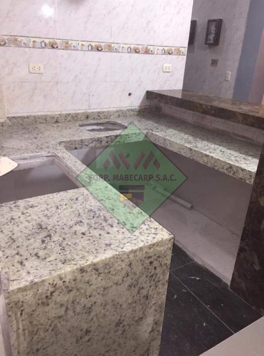 Cuarzo, Mármol y Granito: Instalación